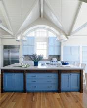 12 kitchen cabinet color combos that really cook this old house