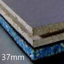 37mm jcw acoustic deck 37 cement particle direct to joist board
