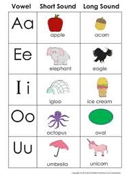long and short vowel chart free pack includes additional free