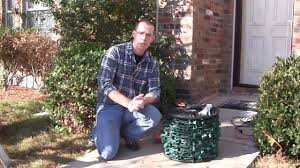 How To String Lights On Outdoor Tree Branches by Using Glue To Attach Christmas Lights To Brick U0026 Stucco Youtube