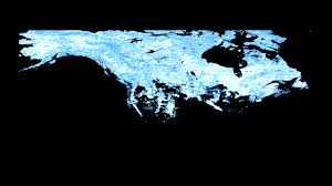 United States Snow Map by Svs North America Snow Cover Maps