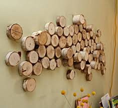 10 original ideas for decorating with slices of wood fresh