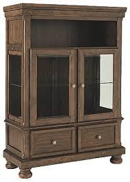 ashley furniture curio cabinet flynnter curio ashley furniture homestore