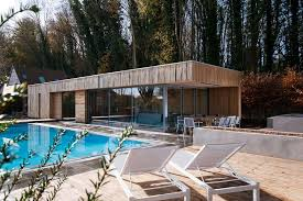 bluebell pool house adam knibb architects architecture lab