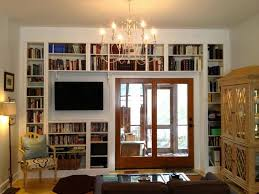 built in bookcase with ladder builtin bookcases with rolling