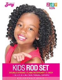crochet braids kids zury kid s crochet braid kids rod set 9 elevate styles