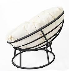Diy Papasan Cushion Cover by Modernize The Papasan Chair Spray Paint Frame Matte Black Maybe