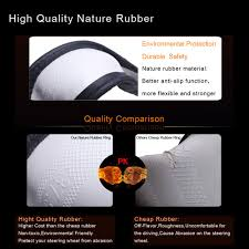 nissan armada for sale uk ledaut uk style pu leather wrap around steering wheel cover for