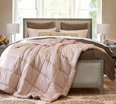 portia cotton silk quilt and pillowcases pottery barn au