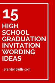 formal high school graduation announcements graduate invites excellent high school graduation invitation