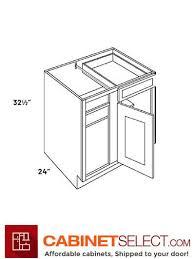 how big is a corner base cabinet l10 blb36 39 ha luxor white 36 blind corner base cabinet ada