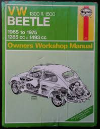 workshop manual volkswagen beetle abebooks