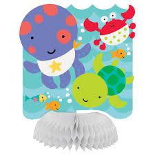amazon com under the sea baby shower invitations unisex red
