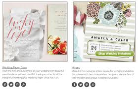 invitation websites top 10 wedding invitation websites our picks