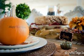 thanksgiving place cards ideas thanksgiving table all set cre8tive designs inc