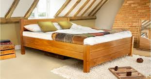 Wooden Framed Beds Top New Wooden Framed Beds With Regard To Property Prepare