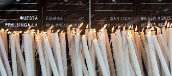 Why Do Catholics Light Candles Placing A Candle Sanctuary Our Lady Of Lourdes
