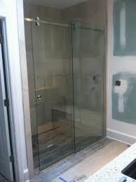 Frameless Slider Shower Doors Frameless Serenity Slider Shower Door 001