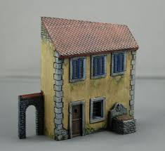 Diorama House Normandy House For 1 72 Dioramas Military Modelling