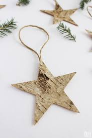 quick and easy christmas decorations to make birch decorations
