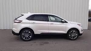 white ford edge white platinum 2015 edge titanium awd 3 5l 302a driver s pkg