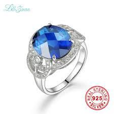 sted jewelry i zuan brand luxury trendy sapphire prong setting western