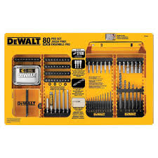 home depot dewalt drill black friday dewalt drilling driving set 80 pieces dw2587 the home depot