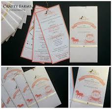 Pocket Invitation Cards Wedding Card Malaysia Crafty Farms Handmade Sweet Pink