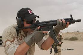 photo navy seal with mp5s