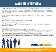 jobs in ambuja neotia group vacancies in ambuja neotia group