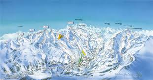 St Martin Map Saint Martin De Belleville Ski Resort France Reviews And Snow