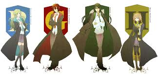 Hogwarts by The Hogwarts Founders Harry Potter Zerochan Anime Image Board
