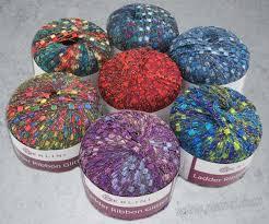 ladder ribbon berlini ladder ribbon glitter yarn four purls yarn shop