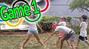 silly string ninja the skory backyard olympics youtube