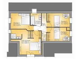chambre en l plans de maison 1er étage modèle lumina maison traditionnelle en