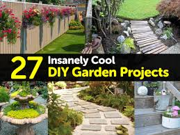 Diy Spring Projects by 27 Insanely Cool Diy Garden Projects