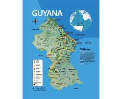Map Of Brazil South America by Guyana Location On The South America Map Map Of South America