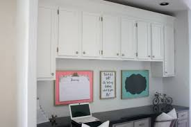 Diy Built In Desk Diy Built In Desk Makeover With Crown Molding Tutorial Build It
