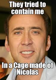 Meme Nicolas Cage - funniest nicholas cage meme google search too funny pinterest