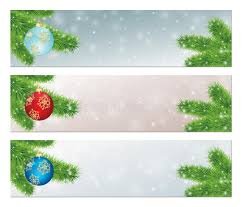 banners with decorated balls royalty free stock photo