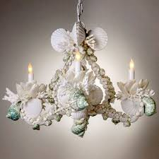 White Shell Chandelier Chandelier Amazing Shell Chandeliers Astounding Shell