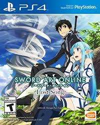 amazon black friday playstation 4 games amazon com sword art online lost song playstation 4 namco