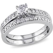 cheap women rings images 3 3 carat t g w cz 14kt gold plated wedding ring set jpeg