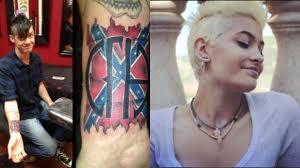 paris jackson u0027s boyfriend defends confederate flag tattoo says
