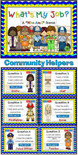 72 best community helpers images on pinterest community workers