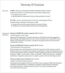 network security engineer resume sample network engineer resume