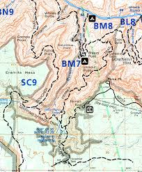 Map Of Grand Canyon Grand Canyon National Park For 2000