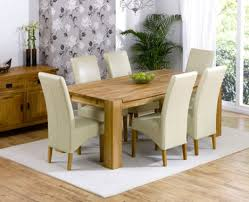 cream leather dining room chairs dining room alluring padded