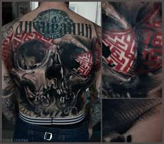 back tattoo by redberry tattoo