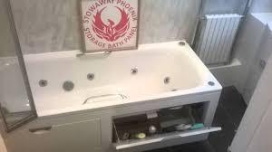 stowaway storage bath panel youtube